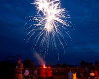 Fireworks July 4, 2015 Searsport, Maine