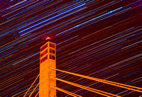 January Startrails - Penobscot Narrows Observatory